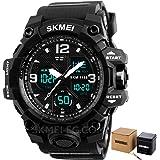 skmei 1155 For Men-Analog-Digital, Sport Watch