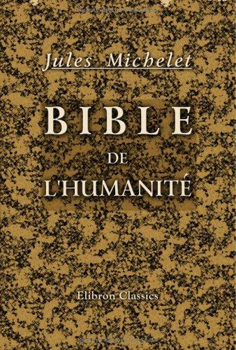 Bible de l'humanité