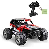 infinitoo Remote Control Car, High Speed Off-Road Vehicle 1:18, Auto 12km/h 2.4GHz, Electric Racing Car Toys, RC Buggy Vehicl
