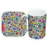 Selina-Jayne Summer Meadow Limited Edition Designer Mug and Coaster Set