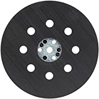 Bosch 2608601062 - Plato de lija, medio duro, 125 mm, color negro