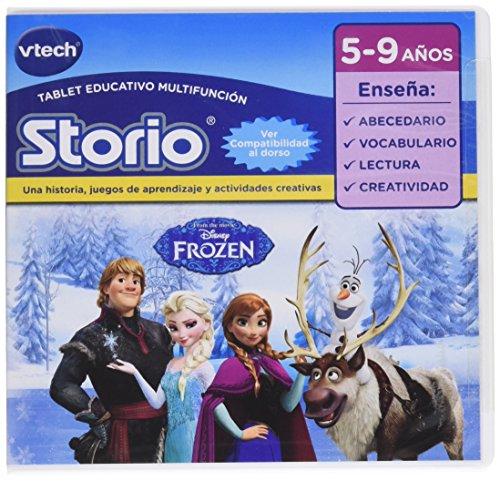VTech - Juego para Storio 2 ,Frozen, 3S, Storio MAX, en español, 5-9 años (80-234522)