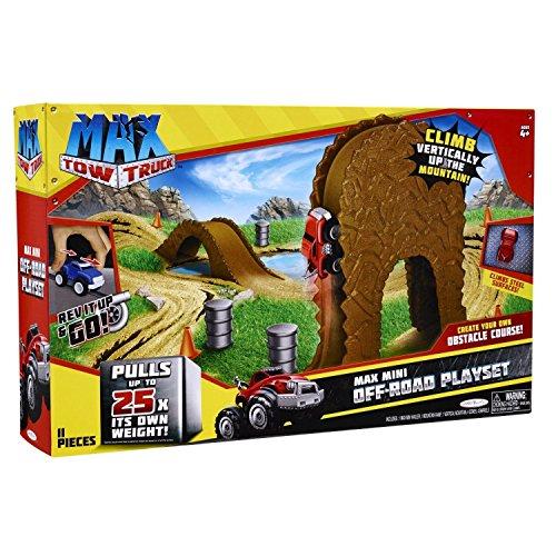 24 Stück Max Abschleppfahrzeug Max Mini Off-Road Playset by Max Tow Truck (Truck Tow Max)