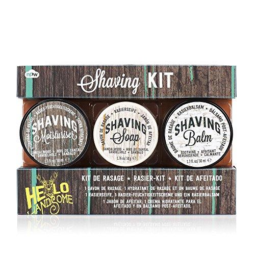 Handsome Shaving Kit - Moisturiser, Soap and
