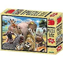 Puzzles & Geduldspiele 23 Teile ab 4 Jahre 3D Puzzle 4 Tiere aus Afrika