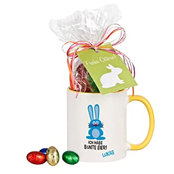 Mug i coloured eggs with chocolate personalised mug gift mug i coloured eggs with chocolate personalised mug gift idea easter gift easter easter funny fun for men gift for him ceramic gelbe tasse negle Images
