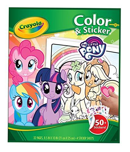 000My Little Pony Farbe und Aufkleber Buch (My Little Pony-wiederverwendbare Aufkleber)