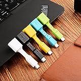 USB C Adapter auf Micro USB Type C Adapter Konverter 56K Widerstand für Samsung Galaxy S9 S8 Note 8 A5 A3,LG g5 g6,Sony Xperia XZ,Huawei P9/P10,MacBook (Type-c)