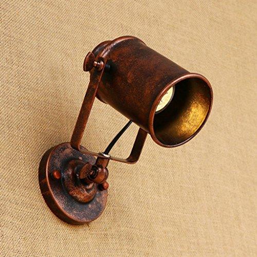 Nailyn Vintage industrial swing brazo de pared luz ajustable retro hierro forjado...
