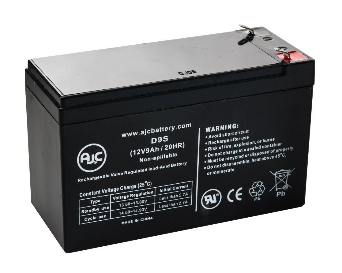 Batteria per Sigillata agli acidi di piombo Leoch DJW12-9 12V 9Ah - Ricambio di marca AJC®