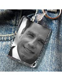 JOHN TRAVOLTA - Original Art Keyring #js001