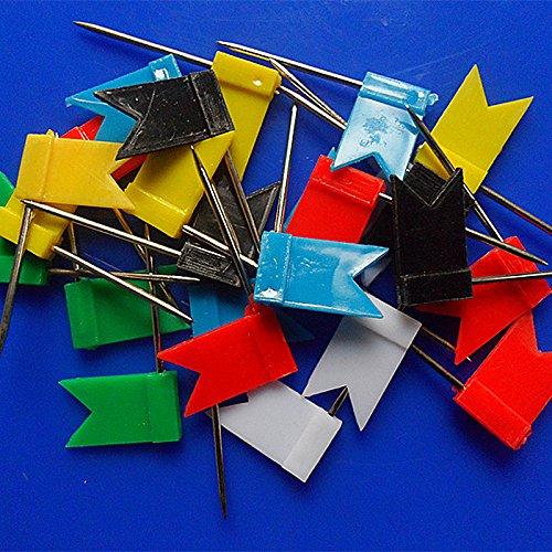50pcs-Chinchetas-de-Bandera-en-Push-Pin-Tabln-Marcador-Mapa-Pernos-Color-al-Azar