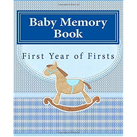 Baby Memory Book: First Year of Firsts