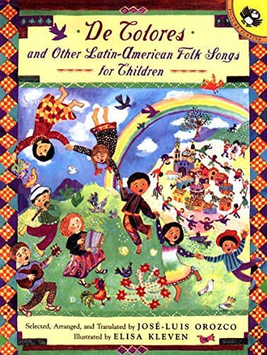 De Colores and Other Latin American Folksongs for Children (Anthology) (American Spanisch Girl)