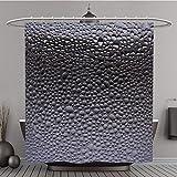 Duschvorhang 282158120Wassertröpfchen auf der Glas mit einem farbigen Hintergrund. Drops of Polyester-Wasser-Bad Vorhang