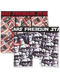 Star Wars Freegun, Bóxer para Hombre (Pack de 2)
