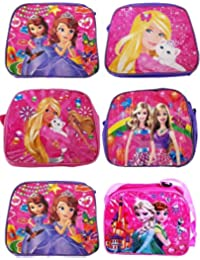 AASA Cartoon Printed Sling Bags, Sling Bag For Girls, Multicolour, 300 Gram, Pack Of 1 (11383)