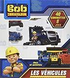 Les véhicules Bob le bricoleur - 40 gommettes 8 jeux