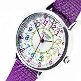 EasyRead time teacher ERW-COL-24Armbanduhr 12–24, Violett (2 Farben verfügbar)