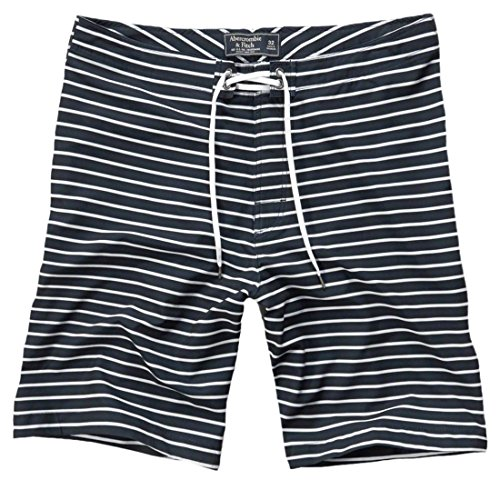 abercrombie-mens-af-9-swim-shorts-trunks-beach-boardshorts-size-28-navy-stripe-621668290
