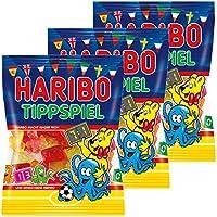 Haribo Consiglio gioco, 3 pacchetto, Consiglio gioco, frutto gomma, vino gomma, gomma orsetto, in sacchetto