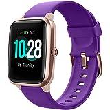YAMAY Smartwatch Orologio Fitness Donna Uomo Smart Watch Android iOS Contapassi Cardiofrequenzimetro da polso Orologio Sporti