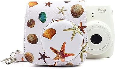 Fujifilm Instax Mini case Cover for Instax 8/8+ / 9 Starfish PU Leather Bag Starfish White Background