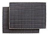 CarFashion 282501 Pur|EasyClean – Sparpack – Allwetter Universal Fussmatte, Automatte, Türmatte, Universal Gummimatte, Anthrazit-Dark-Metallic