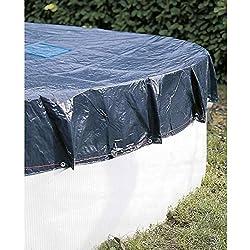 Provence Outillage-Cubierta de piscina redonda diámetro: 5,4 m, 240 g/m²