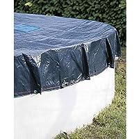 07429 Provence Outillage-Telone per piscina rotonda Ø 5,4 m, colore: blu