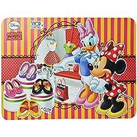 Preisvergleich für Unterlage - Disney Minnie Mouse - 43 cm * 29 cm - Tischunterlage / Platzdeckchen / Malunterlage / Knetunterlage / Eßunterlage - Maus Mäuse Disney - für Kinder Mädchen / kleine Schreibunterlage