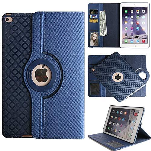 3rd Gen Fall (Yimiky iPad Air 3 Hülle, 360 Grad drehbares magnetisches PU Leder mit Ständerfunktion Ganzkörper Schutzhülle für das Neue iPad Air 10.5