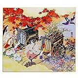 giapponese Shikishi racconti di Genji riproduzione artistica Board # s-7, made in Japan