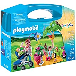 Playmobil Maletín Grande Picnic Familiar, única (9103)