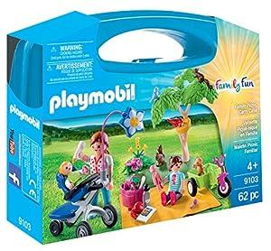 Playmobil- Maletín Grande Picnic Familiar, única (9103)