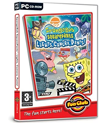 Spongebob SquarePants: Lights Camera Pants (PC CD)