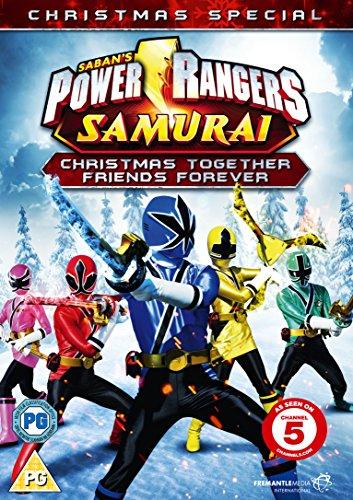 Power Rangers Samurai: Christmas Together, Friends Forever [DVD] [Edizione: Regno Unito]