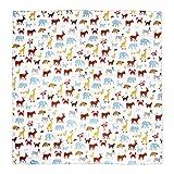 IGNPION Splash Mat seggiolone Baby Splat tappetino non sporca antiscivolo alimentazione Protector (110cm x 110cm) (bianco)