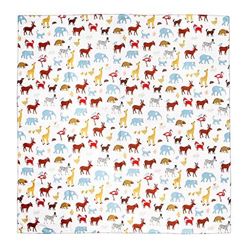 IGNPION Splash Matte Hochstuhl Baby Splat Fußmatte kein Durcheinander rutschfeste Füttern Displayschutzfolie (110 cm x 110 cm) (weiß) (Fußmatten Hochstuhl)