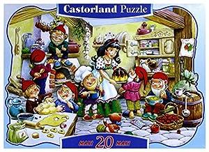 CASTORLAND-1502115 Puzle, Multicolor (1502115)