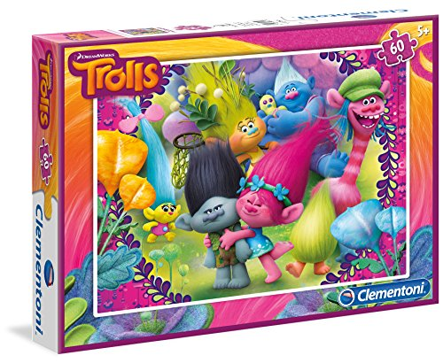 TROLLS Puzzle 60 piezas