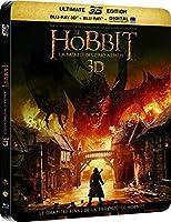 Le Hobbit : La bataille des cinq armées [Combo Blu-ray 3D + Blu-ray + Copie digitale - Édition boîtier SteelBook]