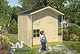 16 mm Kinderspielhaus Aschenputtel ca. 220x220 cm
