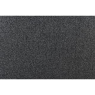 Arthouse 892100 Glitterati Plain Wallpaper, Black, 53 cm x 10.05 m