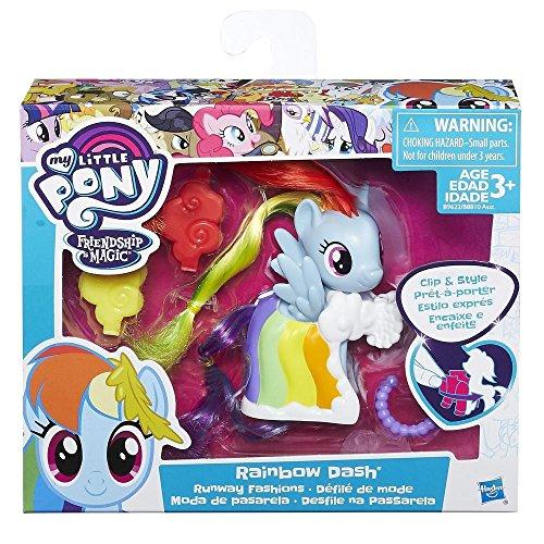 Hasbro My Little Pony Rainbow Dash Chica 1pieza(s) - Kits de Figuras de Juguete para niños (3 año(s), Chica, Multicolor, Animales, My Little Pony, Caja con Ventana)