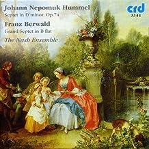 Johann Nepomuk Hummel - Franz Berwald : Septuors