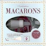 Macarons : Coffret avec un livre, une grande poche à douille et 4 embouts
