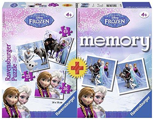 Frozen - Multipack Memory + 3 puzzle (Ravensburger 22311 4)