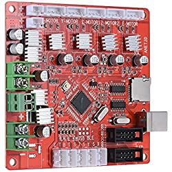 Anet A1284-Tarjeta de Control Base Tarjeta Madre para Anet A8 Bricolaje Autoensamblaje Impresora Escritorio 3D Kit Reprap I3