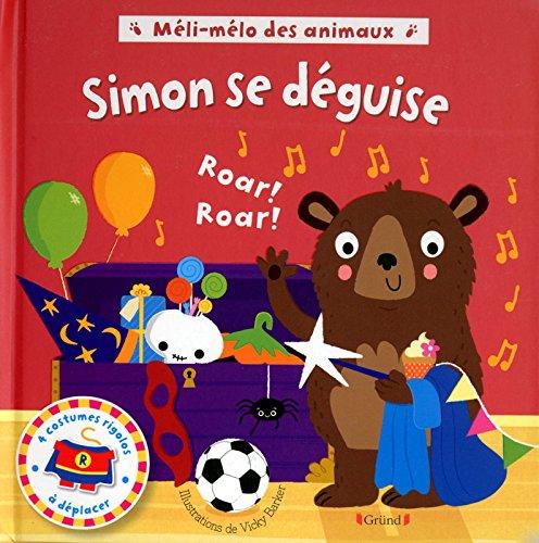 Méli-mélo des animaux - Simon se déguise